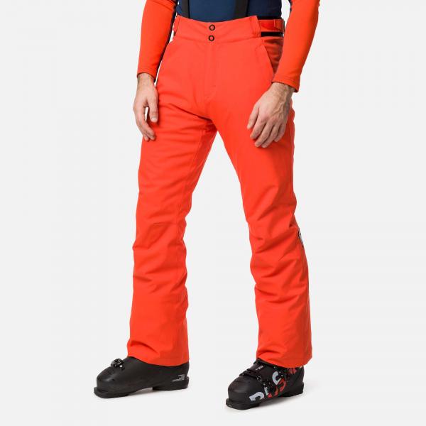 Pantaloni schi barbati Rossignol SKI Lava orange 0