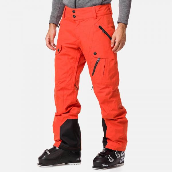 Pantaloni schi barbati Rossignol TYPE lava orange 0