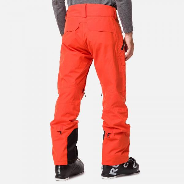 Pantaloni schi barbati Rossignol TYPE lava orange 1
