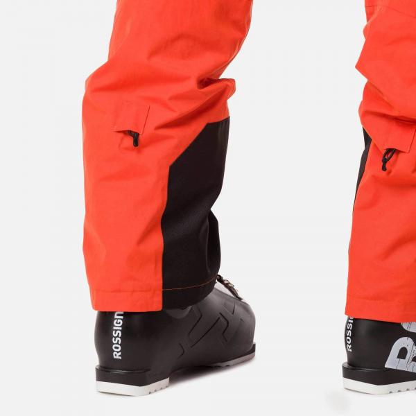 Pantaloni schi barbati Rossignol TYPE lava orange 3
