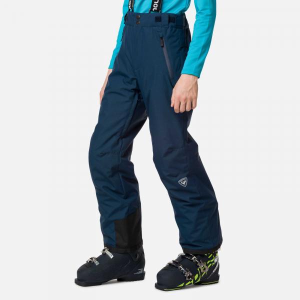 Pantaloni schi copii Rossignol BOY CONTROLE Dark navy 0