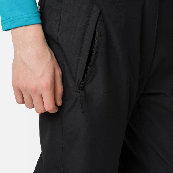 Pantaloni schi fete Rossignol GIRL SKI Black [4]