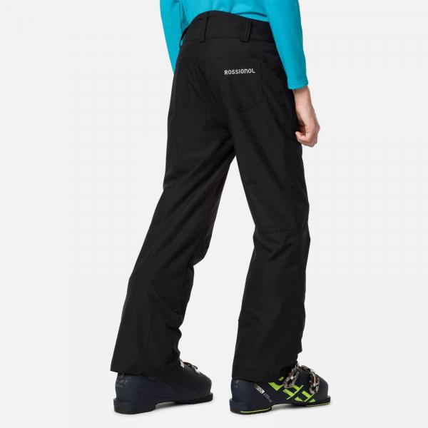 Pantaloni schi fete Rossignol GIRL SKI Black [1]