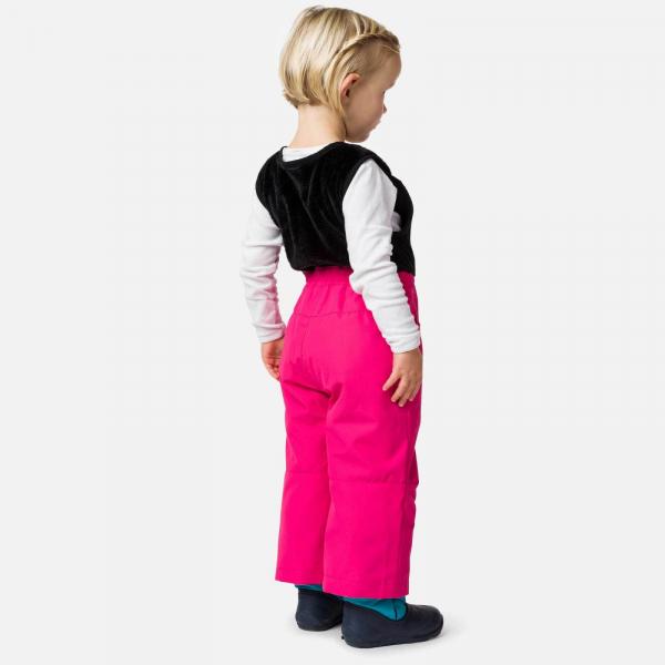 Pantaloni schi copii Rossignol KID SKI Pink fushia 1