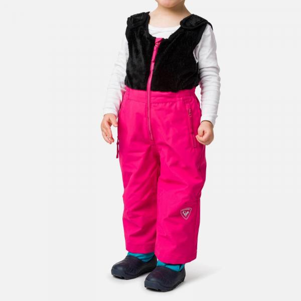 Pantaloni schi copii Rossignol KID SKI Pink fushia 0