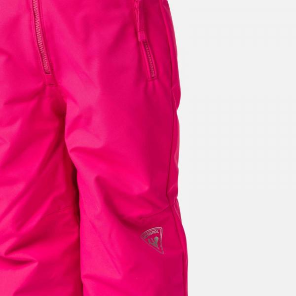 Pantaloni schi copii Rossignol KID SKI Pink fushia 3