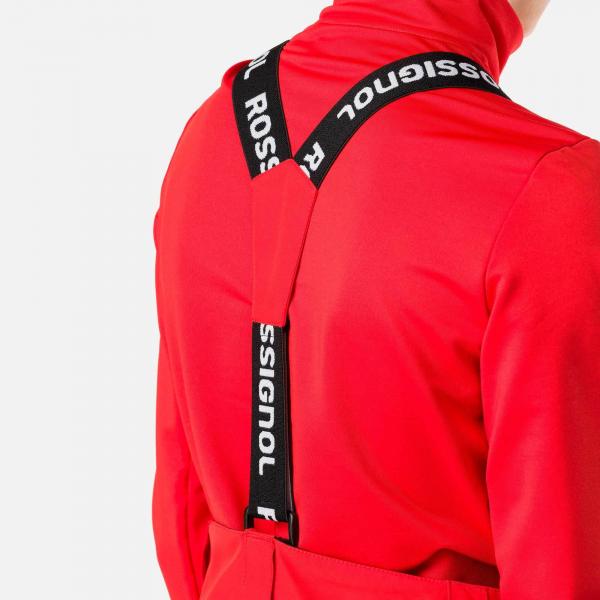 Pantaloni schi copii Rossignol BOY CONTROLE Crimson 2