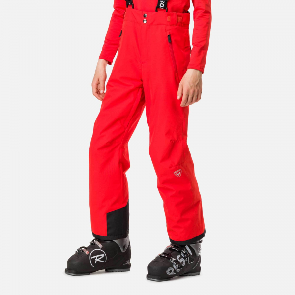 Pantaloni schi copii Rossignol BOY CONTROLE Crimson 0