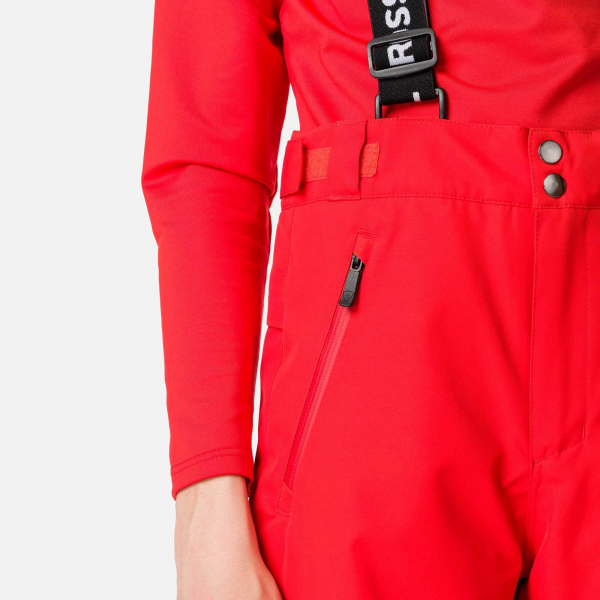 Pantaloni schi copii Rossignol BOY CONTROLE Crimson 6