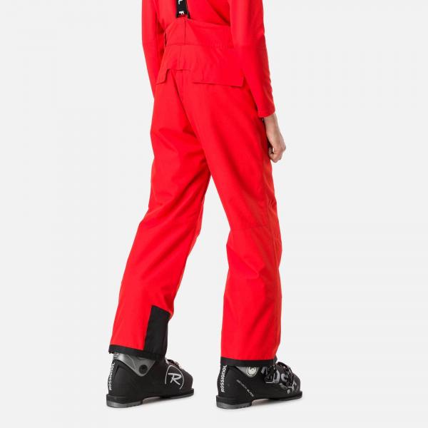 Pantaloni schi copii Rossignol BOY CONTROLE Crimson 1