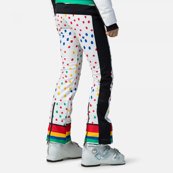 Pantaloni schi dama Rossignol JCC W DIXY PR SOFT Rainbow 1