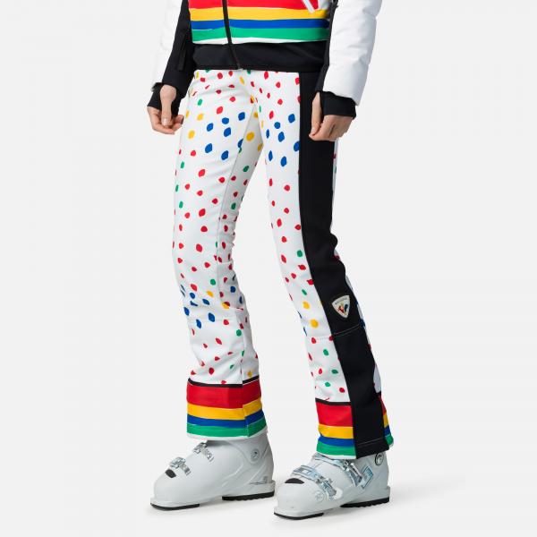 Pantaloni schi dama Rossignol JCC W DIXY PR SOFT Rainbow 0