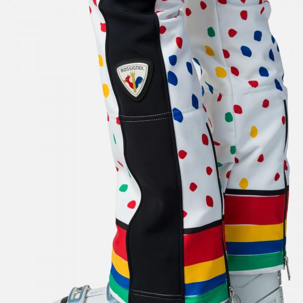 Pantaloni schi dama Rossignol JCC W DIXY PR SOFT Rainbow 2