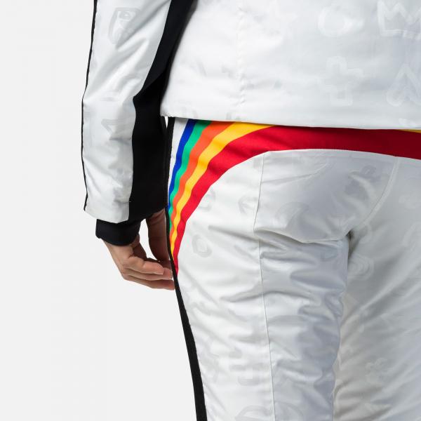 Pantaloni schi dama Rossignol JCC W RAINBOW White 3