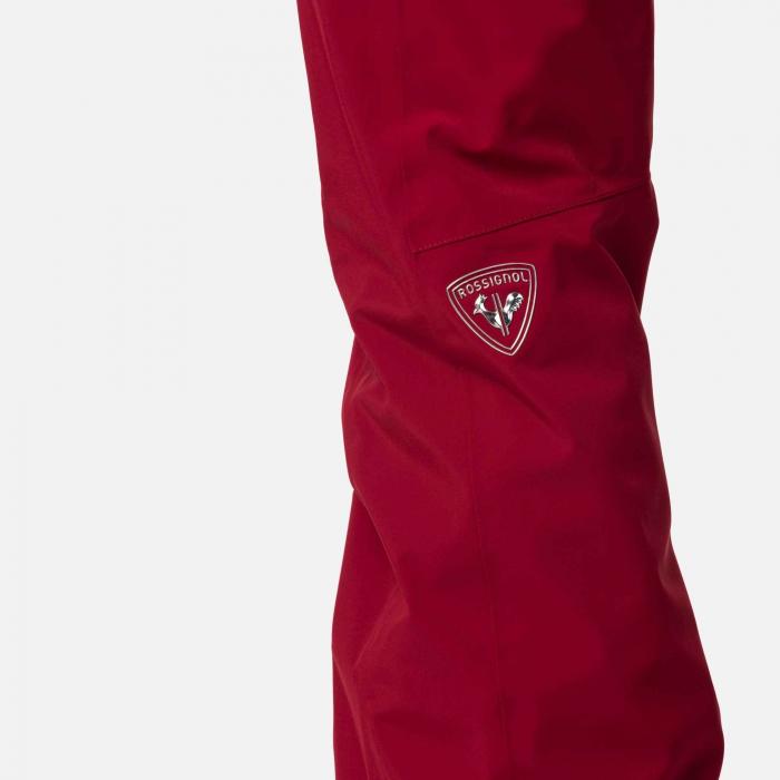 Pantaloni schi dama Rossignol W ELITE Dark red 4