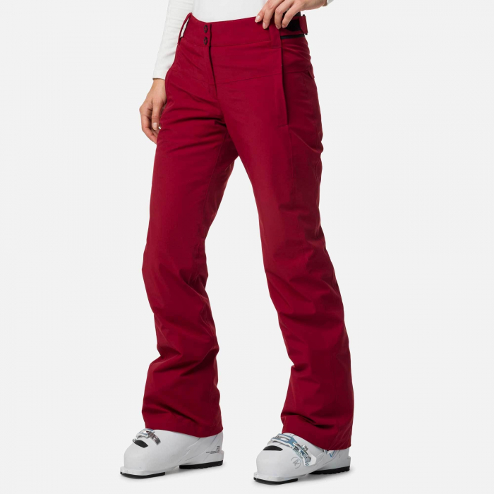 Pantaloni schi dama Rossignol W ELITE Dark red 0