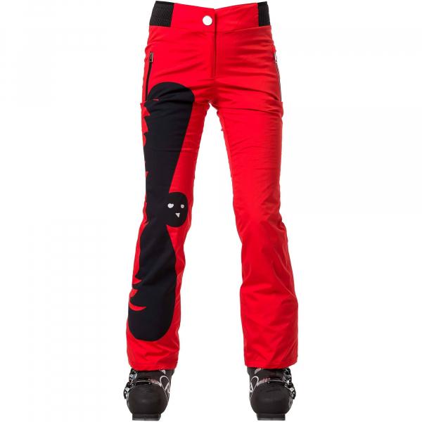 Pantaloni schi dama Rossignol JCC W NUITI Red 0