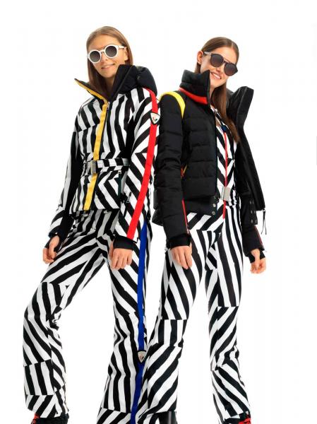 Pantaloni schi dama W SKIFI PR PT OPTICAL OBLICS 6