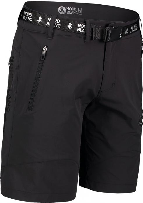Pantaloni scurti barbati Nordblanc BUCKLE outdoor black [0]