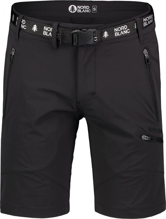 Pantaloni scurti barbati Nordblanc BUCKLE outdoor black [3]
