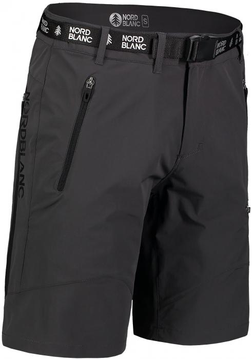 Pantaloni scurti barbati Nordblanc BUCKLE outdoor graphite [0]