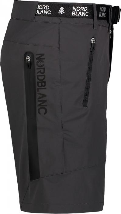 Pantaloni scurti barbati Nordblanc BUCKLE outdoor graphite [1]