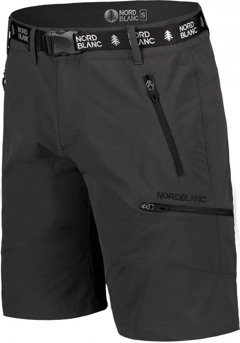 Pantaloni scurti barbati Nordblanc BUCKLE outdoor graphite [2]