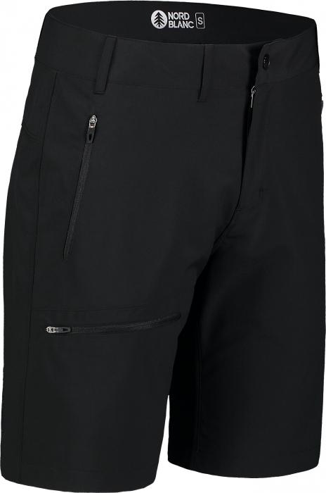 Pantaloni scurti barbati Nordblanc EASY-GOING Light outdoor black [0]