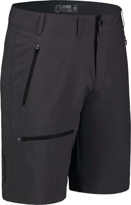 Pantaloni scurti barbati Nordblanc EASY-GOING Light outdoor graphite [0]