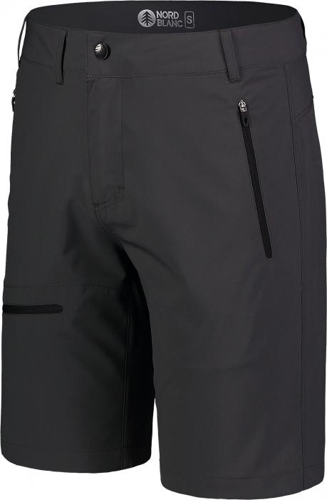 Pantaloni scurti barbati Nordblanc EASY-GOING Light outdoor graphite [1]