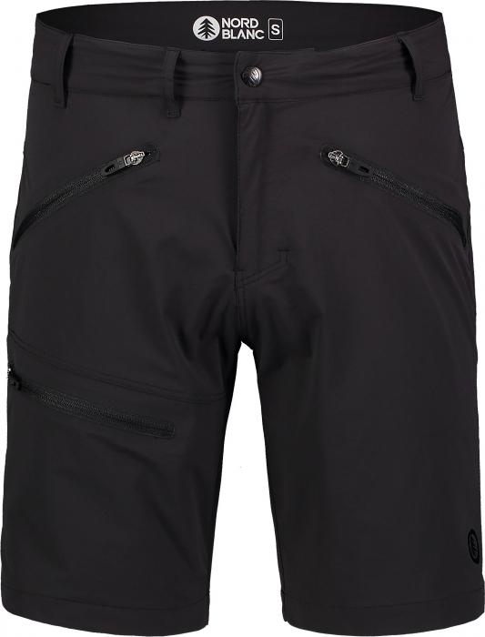 Pantaloni scurti barbati Nordblanc ALLDAY black [2]