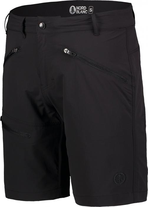 Pantaloni scurti barbati Nordblanc ALLDAY black [1]