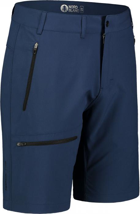 Pantaloni scurti barbati Nordblanc EASY-GOING Light outdoor night blue [0]