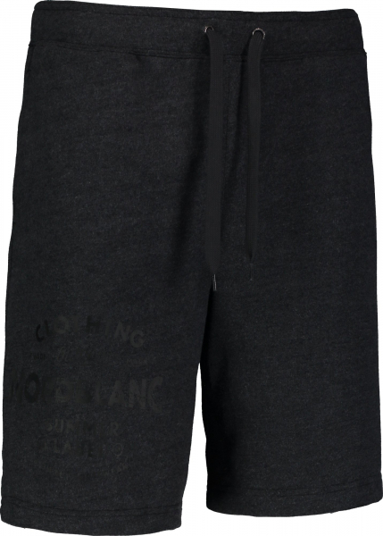 Pantaloni scurti barbati Nordblanc PURPORT cotton fitness Graphite melange 0