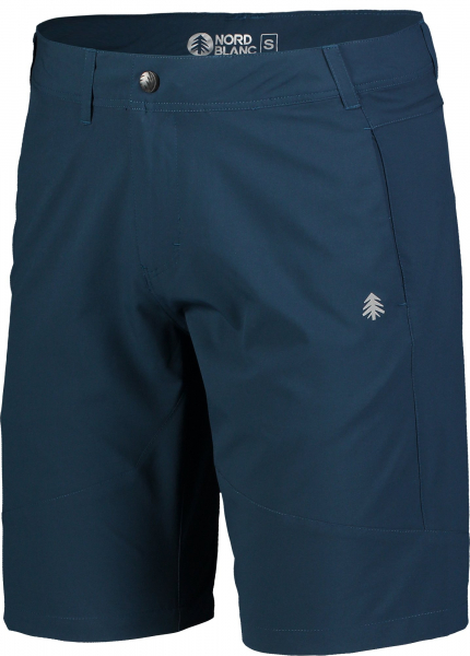 Pantaloni scurti barbati Nordblanc REUTE outdoor ultra light Blue pacific 1