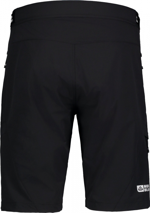 Pantaloni scurti barbati Nordblanc STRAIGHT Outdoor extreme black [1]
