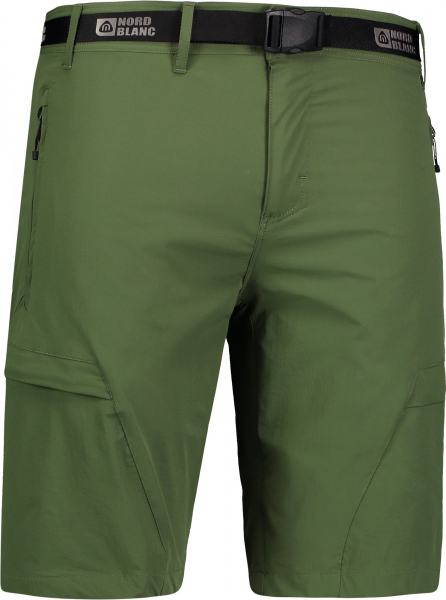 Pantaloni scurti barbati Nordblanc STRAIGHT Outdoor extreme Green arhard 0