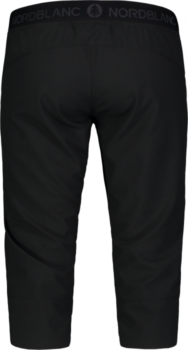 Pantaloni scurti dama Nordblanc EASEFUL outdoor ultra light black [3]