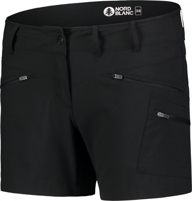 Pantaloni scurti dama Nordblanc SIMPLICITY outdoor light black [1]