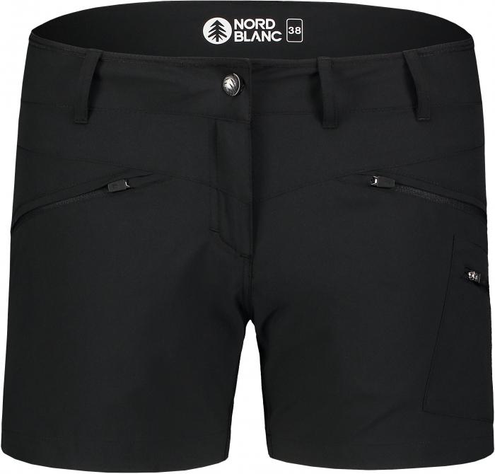 Pantaloni scurti dama Nordblanc SIMPLICITY outdoor light black [2]