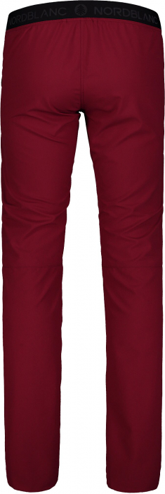Pantaloni scurti dama Nordblanc HIKER ultralight outdoor burgundy red [3]