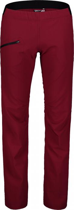 Pantaloni scurti dama Nordblanc HIKER ultralight outdoor burgundy red [2]