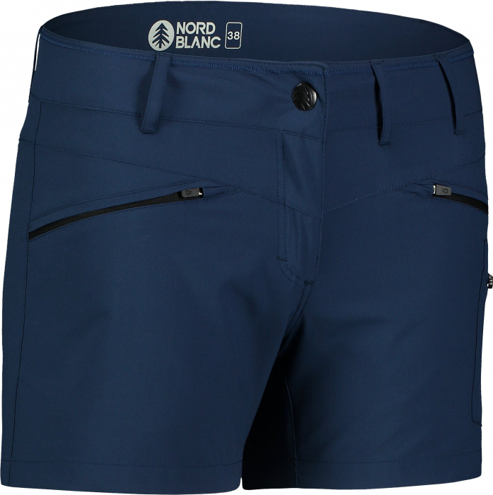 Pantaloni scurti dama Nordblanc SIMPLICITY outdoor light night blue [0]