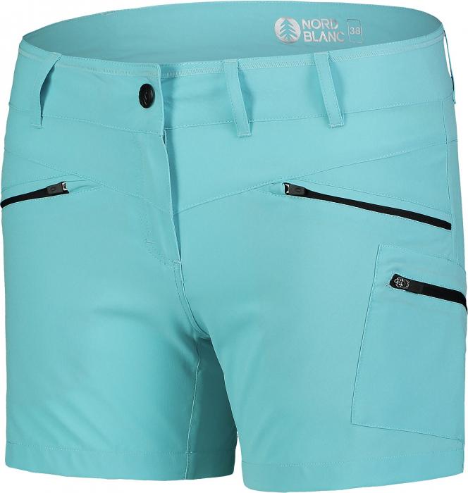Pantaloni scurti dama Nordblanc SIMPLICITY outdoor light polar blue [1]