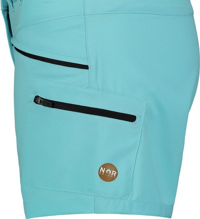 Pantaloni scurti dama Nordblanc SIMPLICITY outdoor light polar blue [4]