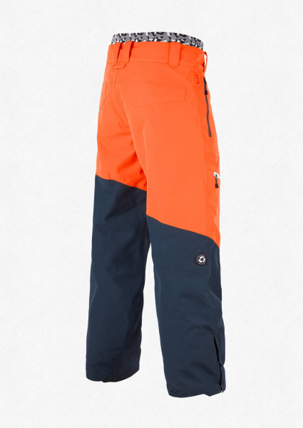 Pantaloni snowboard PICTURE ALPIN Orange dark blue 1