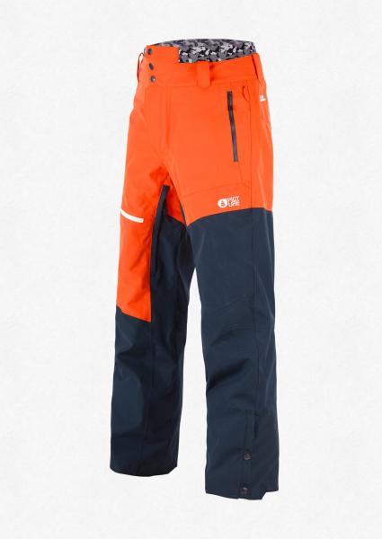 Pantaloni snowboard PICTURE ALPIN Orange dark blue 0