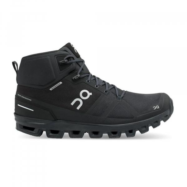 Pantofi sport barbati ON CLOUDROCK WATERPROOF All black 0
