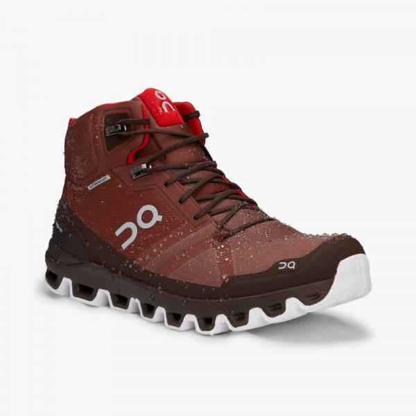Pantofi sport barbati ON CLOUDROCK WATERPROOF Cocoa Red 5