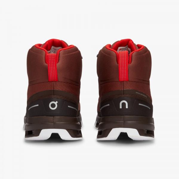 Pantofi sport barbati ON CLOUDROCK WATERPROOF Cocoa Red 4